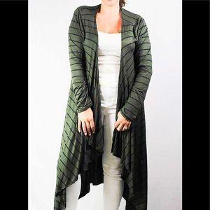 Sweaters - Plus size long sleeve cardigan